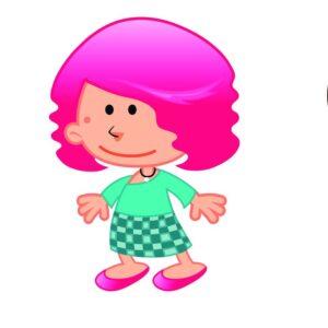 Девочки рост 80-86 см.